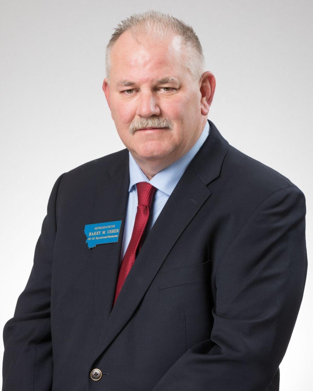 Mugshot Rep. Barry Usher, R-Billings