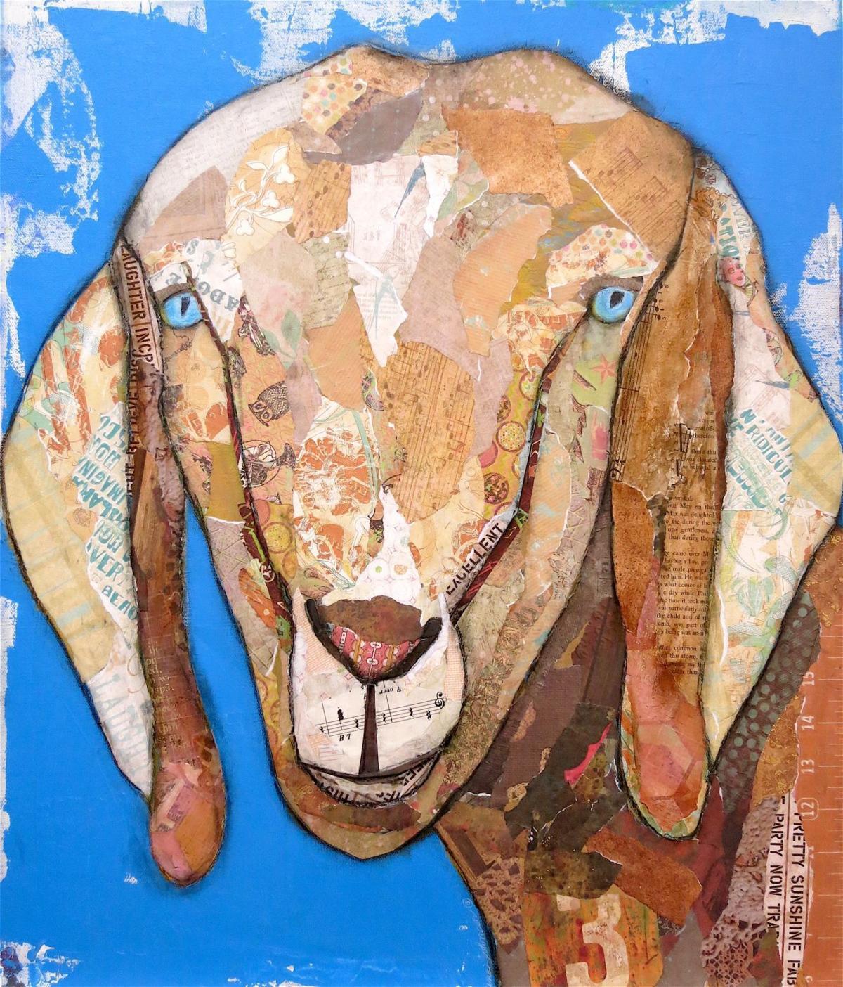 'Old Blue Eyes,' by Betina Johnson
