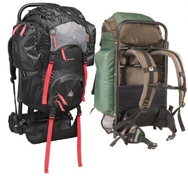backpack - External Frame Hiking Backpack