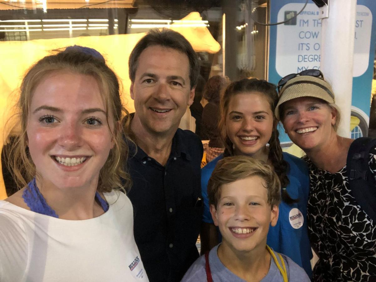 Bullock Family in Iowa
