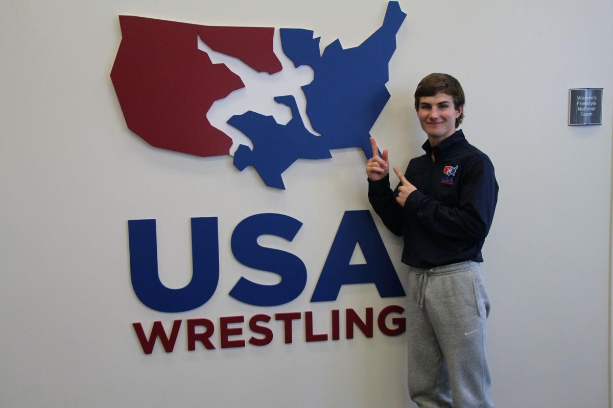 Jess Lockwood was at the USA Wrestling headquarters recently