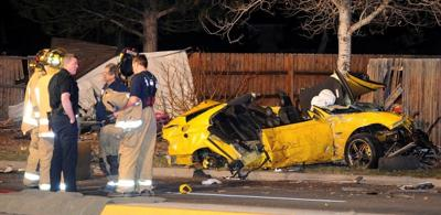 Man who crashed GTO on West End in critical condition