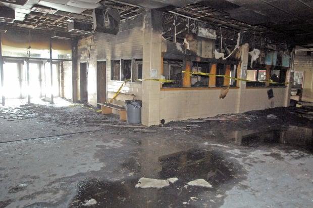 Dickinson school fire
