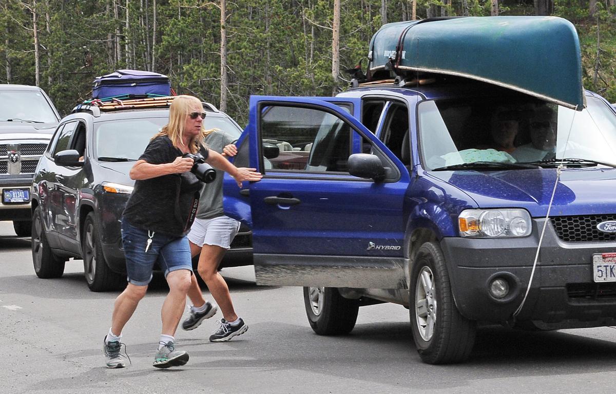 Tourist scramble