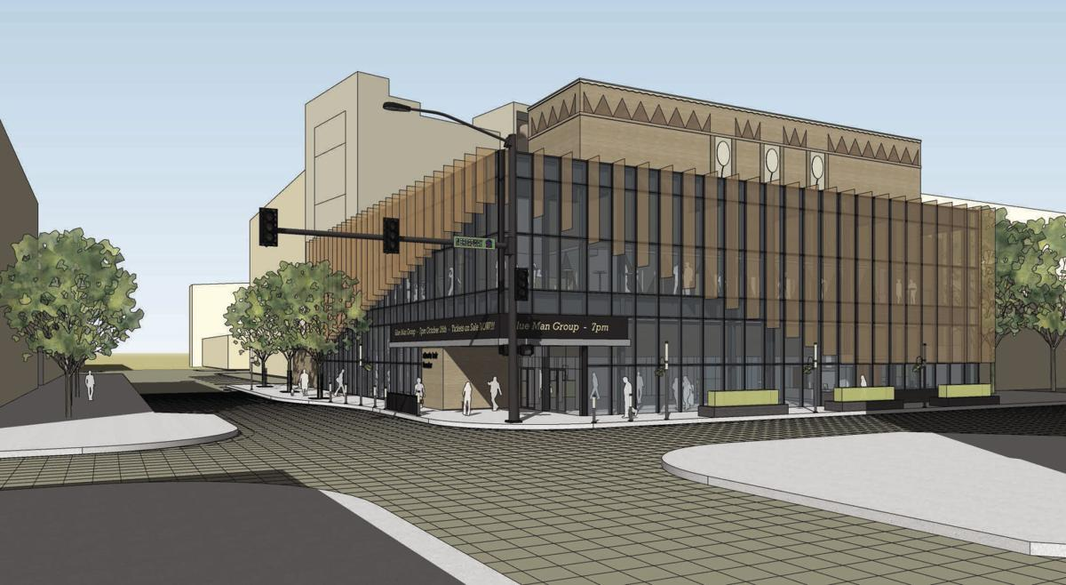 Alberta Bair Theater renovation and expansion