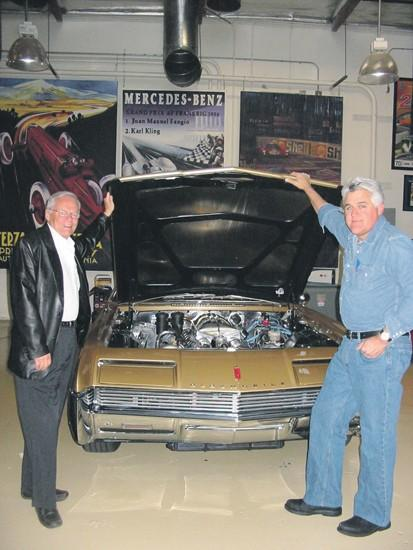 Brushes with fame: Leno among stars car designer has known