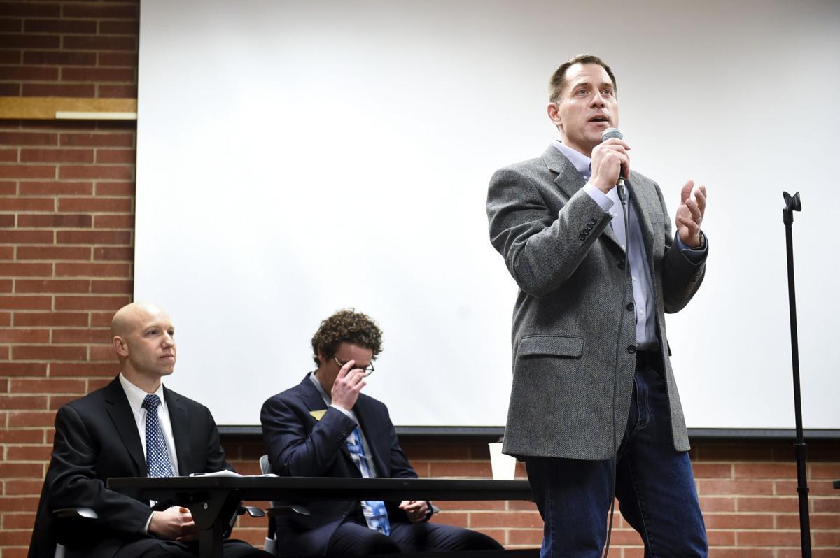 Democratic candidate Grant Kier