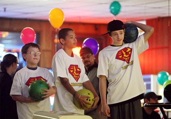 Bowlers raise money for kids