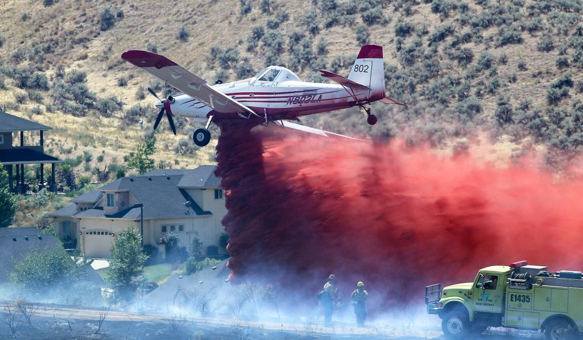 Boise Foothills Fire