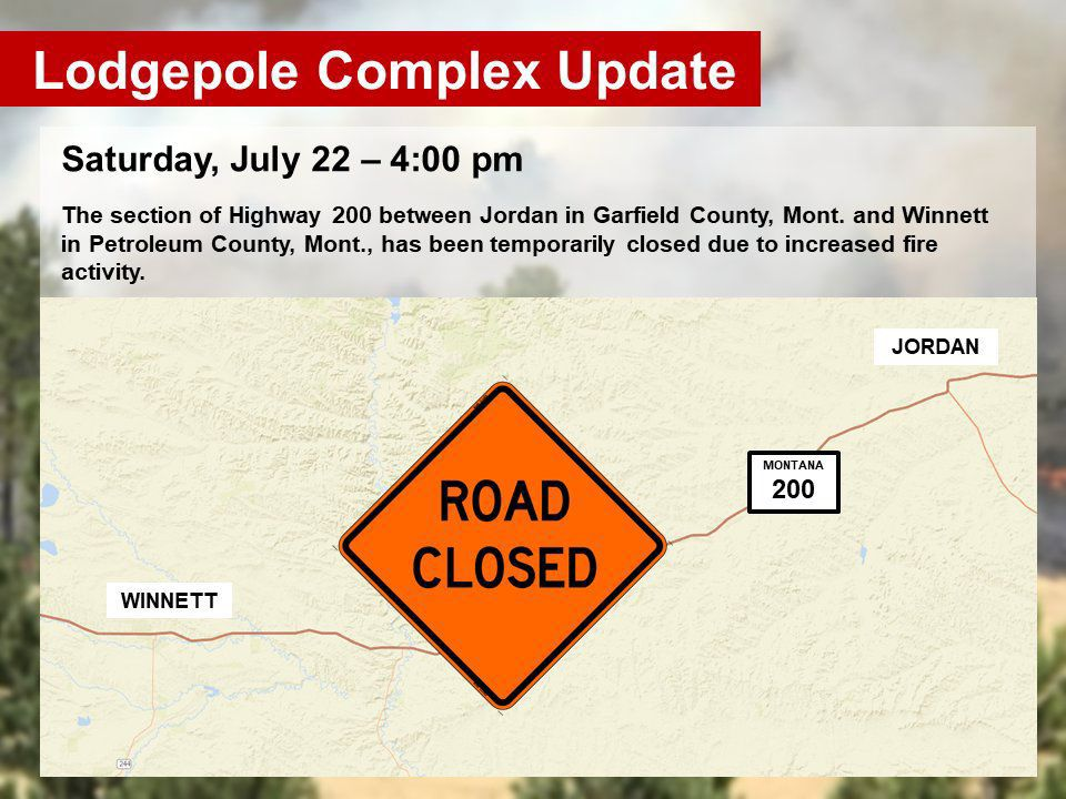 Winnett to Jordan closure map