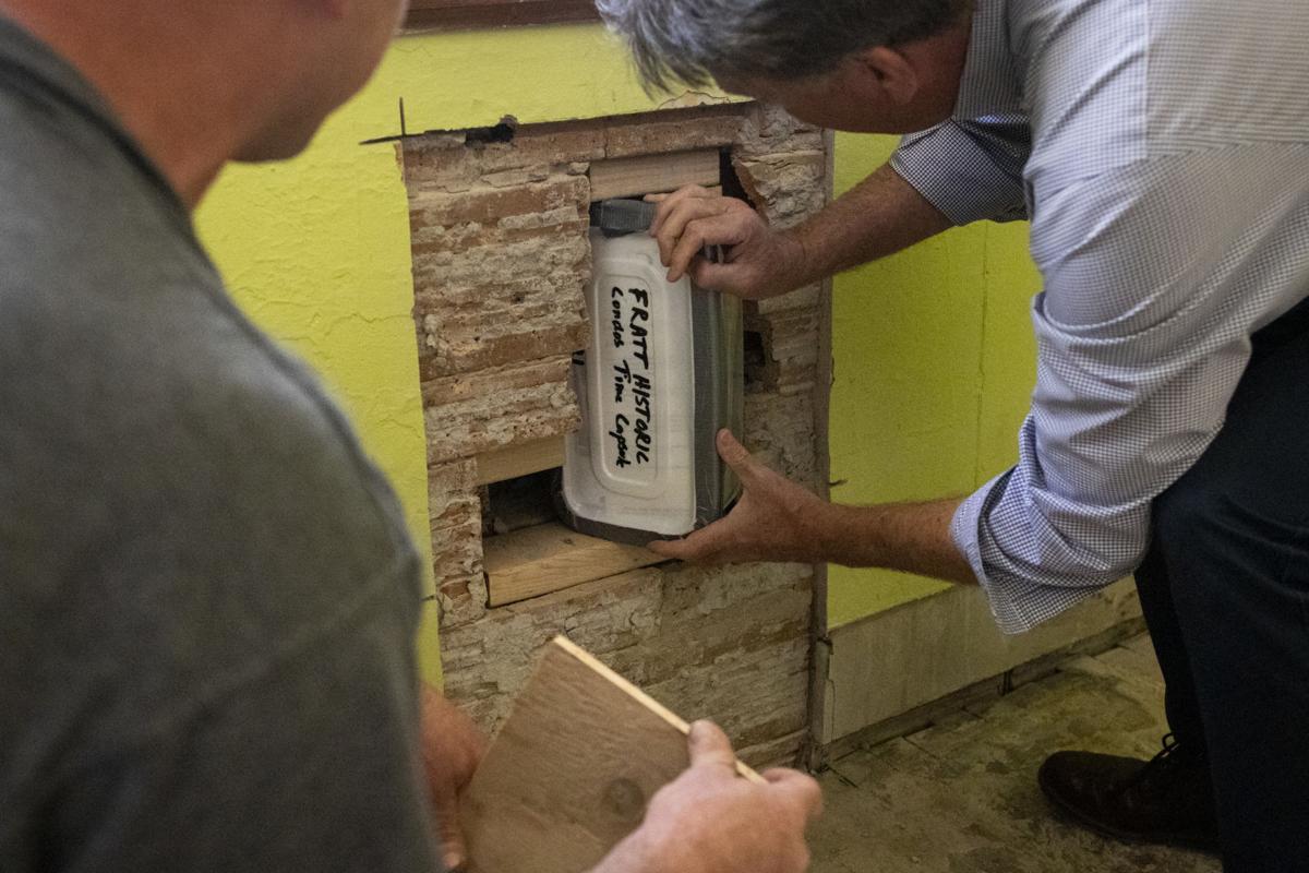 Fratt building time capsule