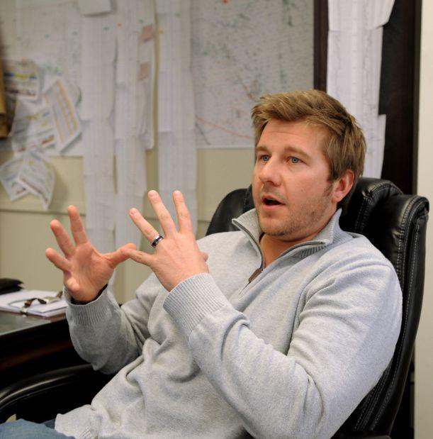 Casey Anderson, of Brara Geologic