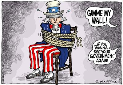 Government held hostage