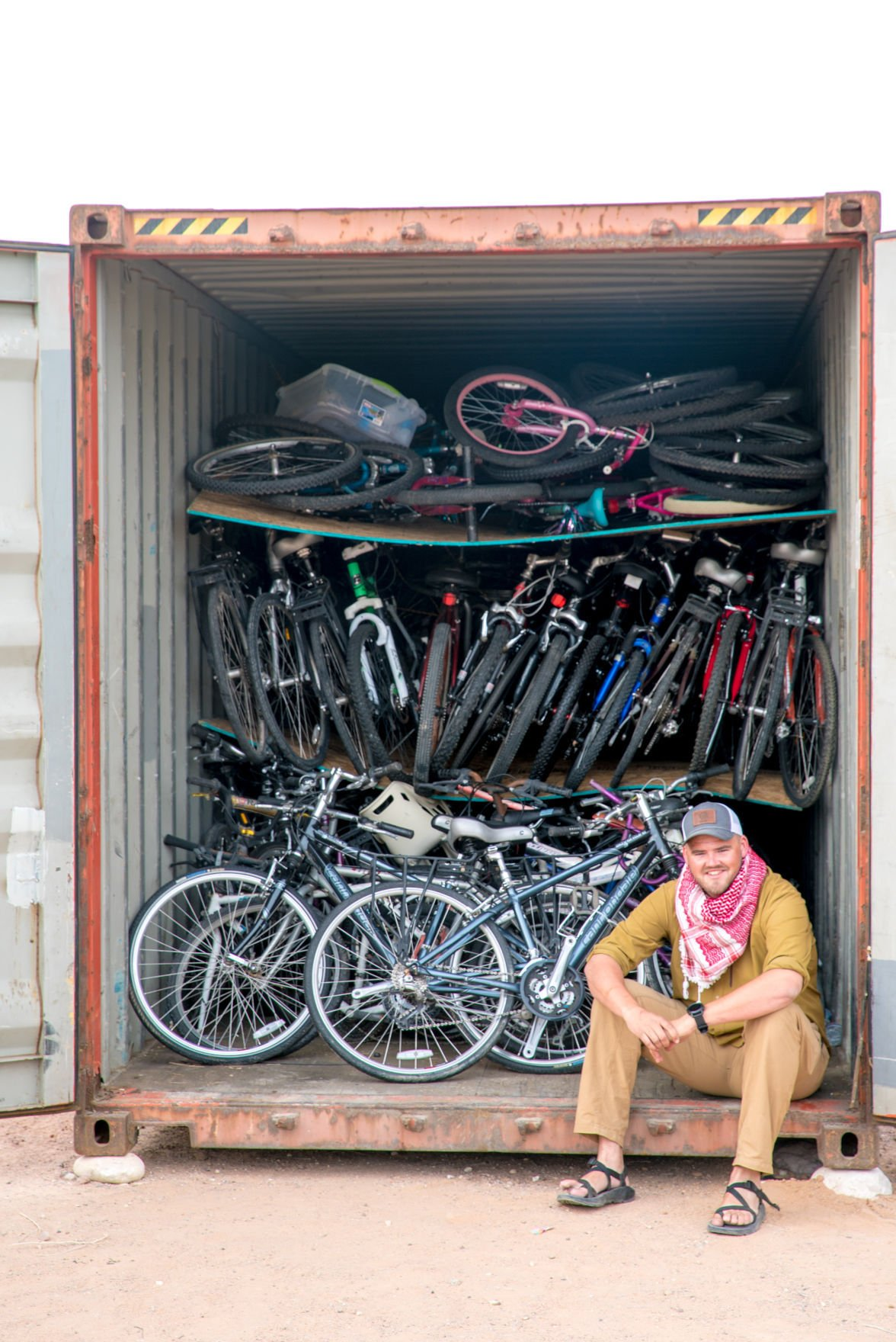 Bikes in Jordan