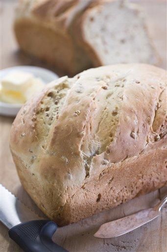 Wheat berry bread