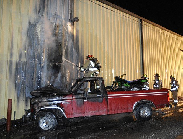 Big Sky Collision Center fire