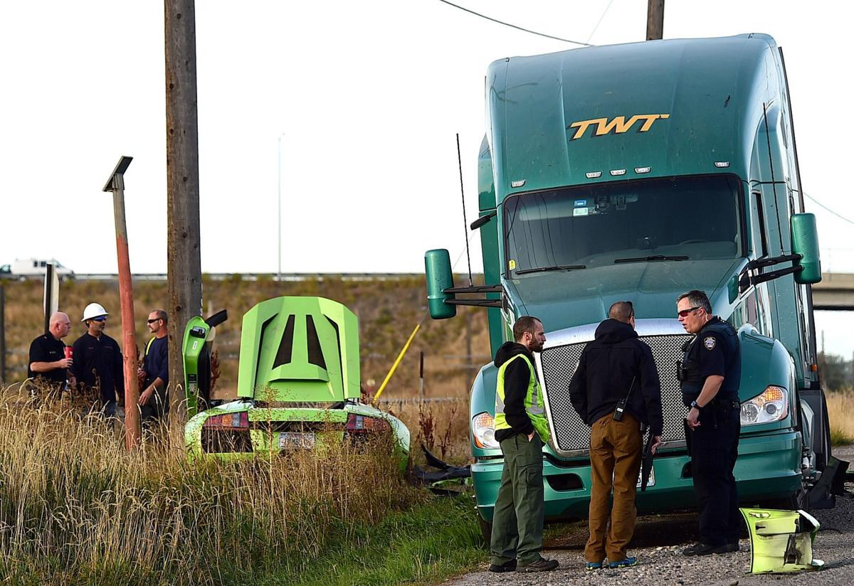 Lamborghini driver who died after crashing into semi on King Avenue