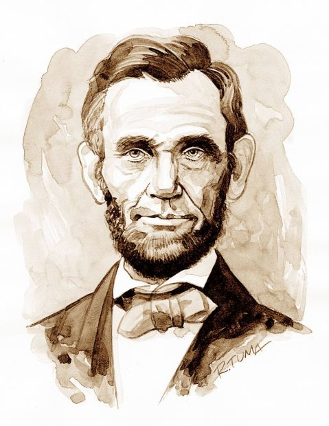 U.S. PRESIDENT: Abraham Lincoln