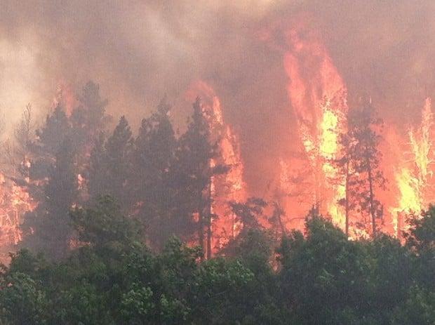 Ash Creek fire