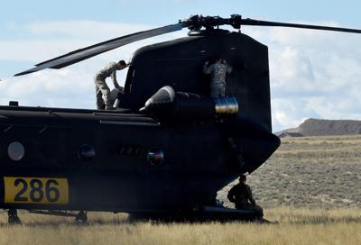 Montana National Guard training at Laurel Airport