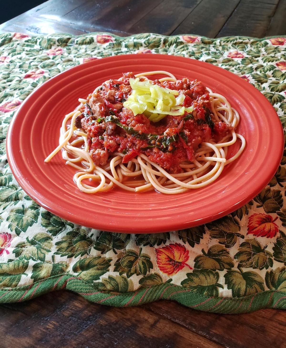 Fresh Tomato Marinara Sauce with Sausage