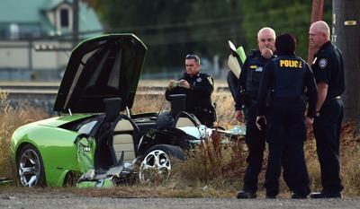 Lamborghini driver who died after crashing into semi on King Avenue
