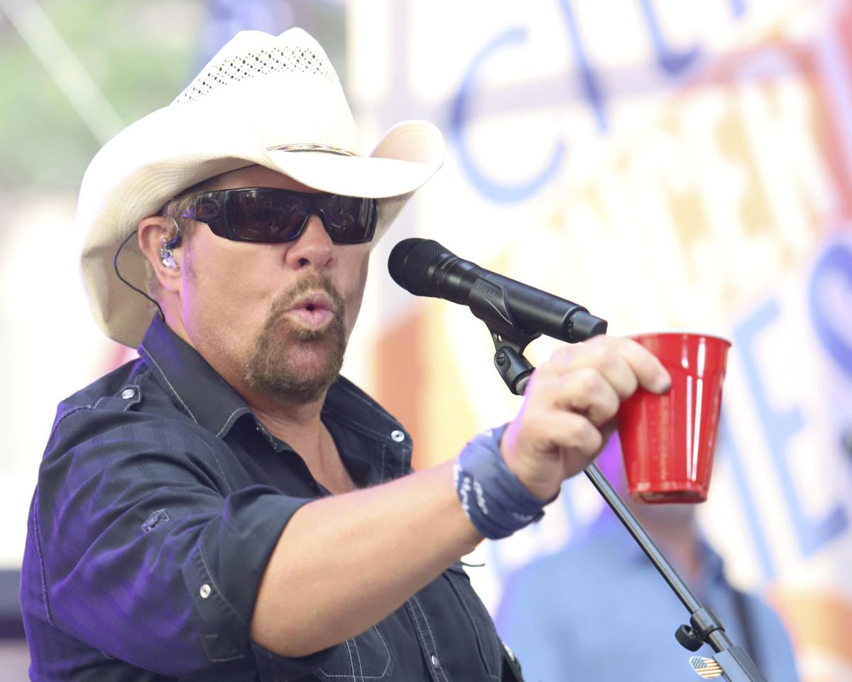Toby Keith Performs on NBC's Today Show