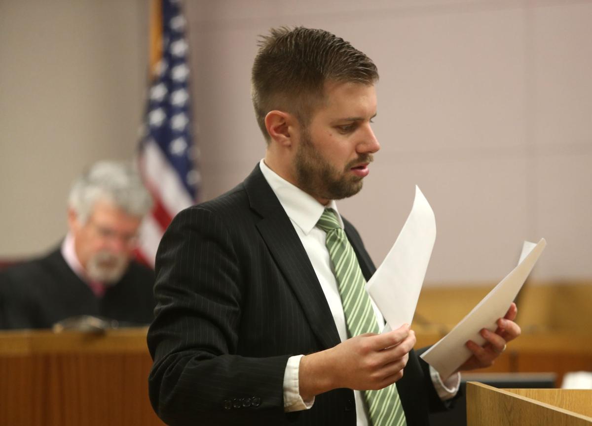 Public defender Richard Gillespie