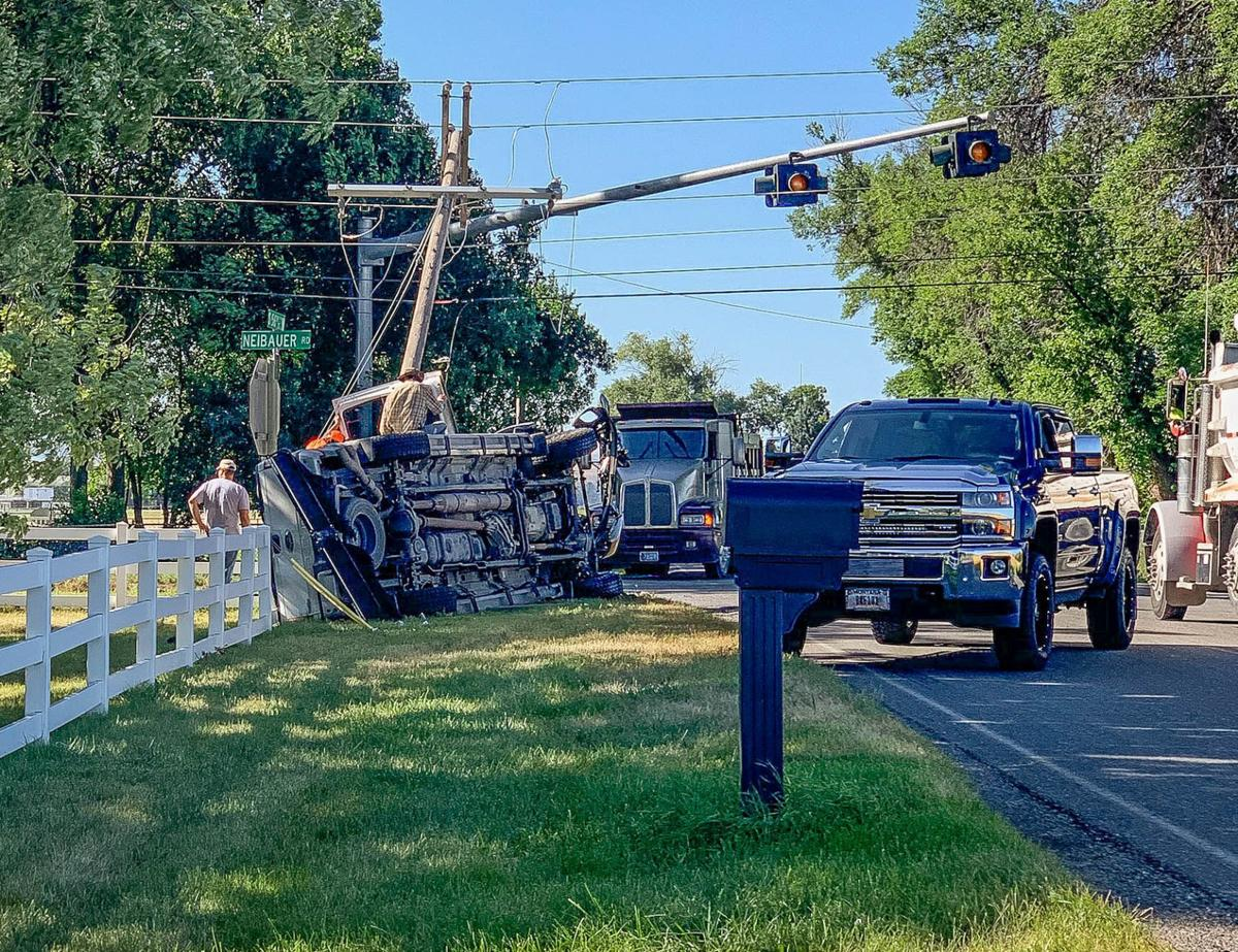 2-vehicle crash on far West End downs power pole, sends 1 to
