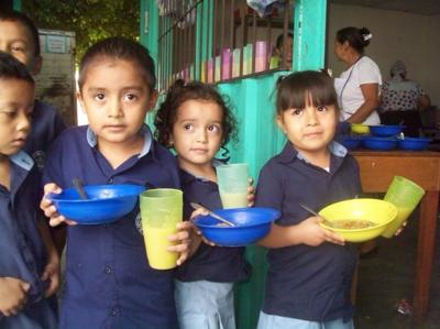 Children in El Salvador