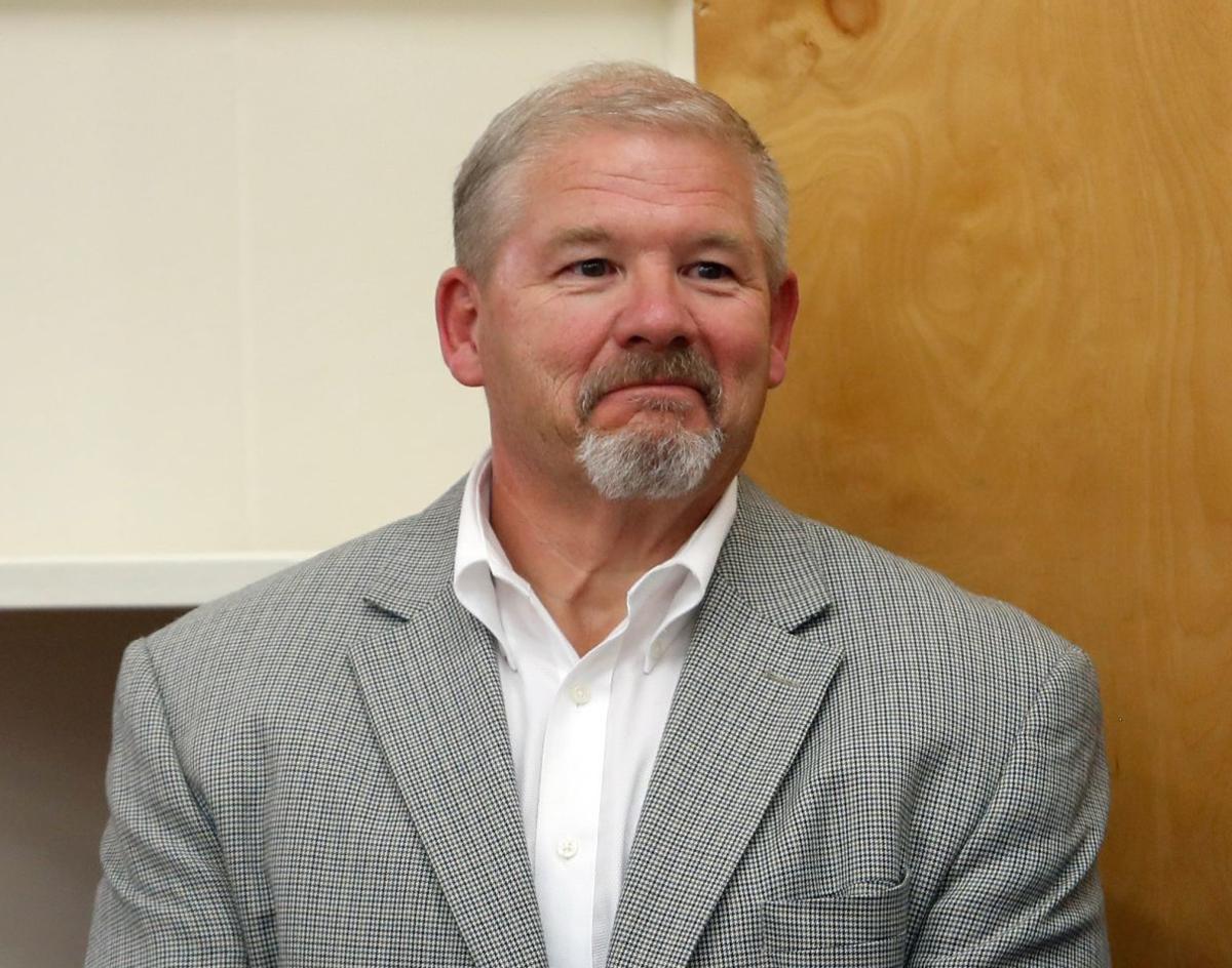 Superintendent Greg Upham