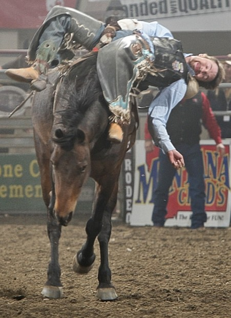 Joel Schlegel Hung On To His Reride To Score 73 Rodeo