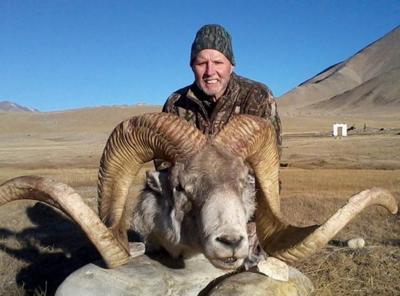 Rick Vukasin and Marco Polo sheep