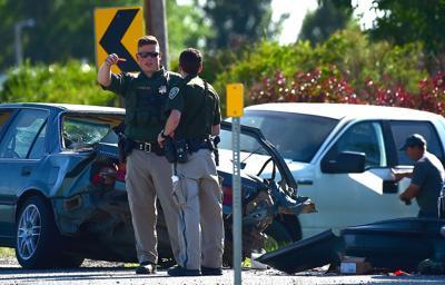 Highway 312 crash