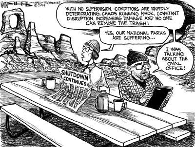 Shutdown government