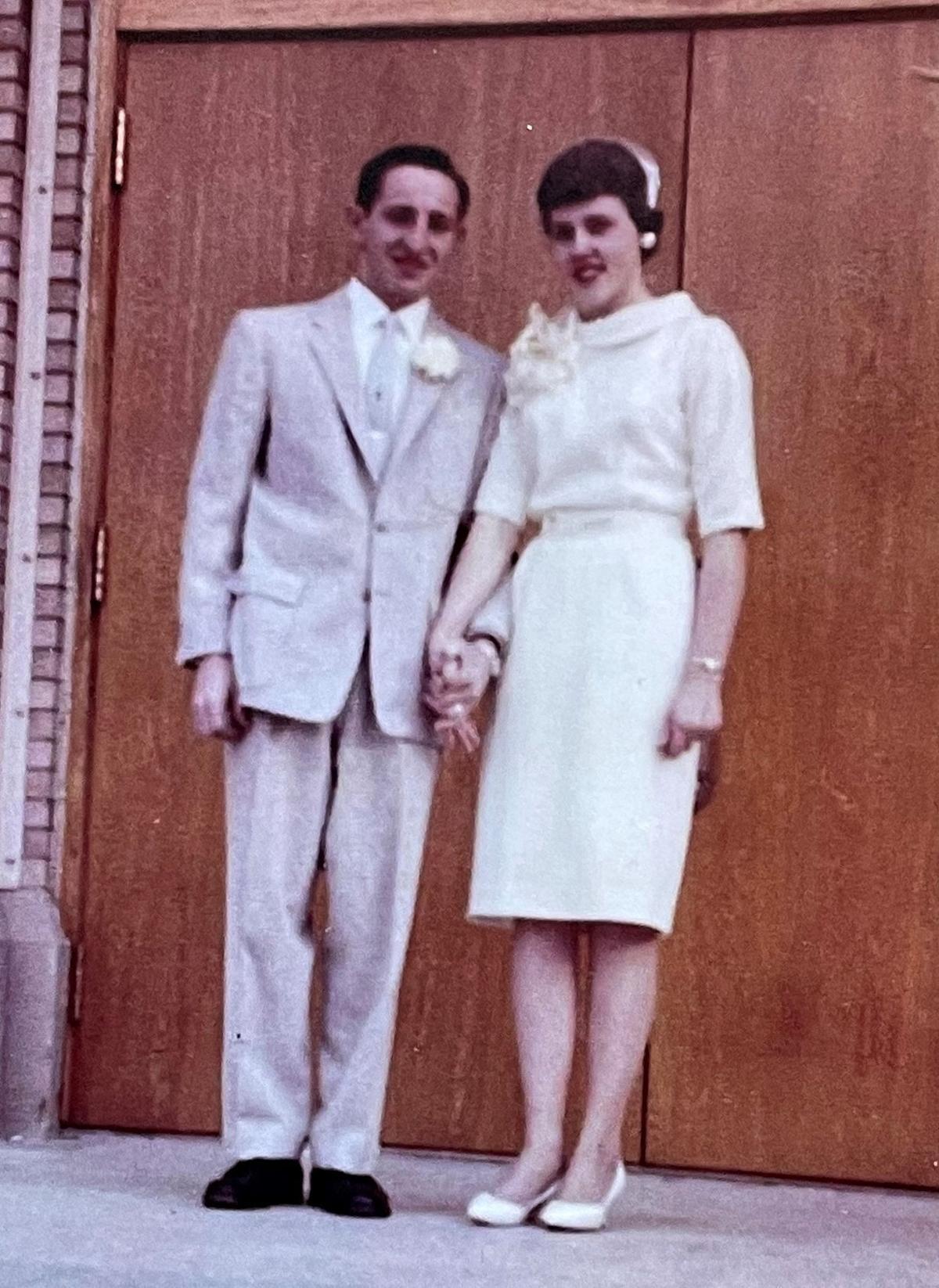 Nancy and Joe Pirami in 1960