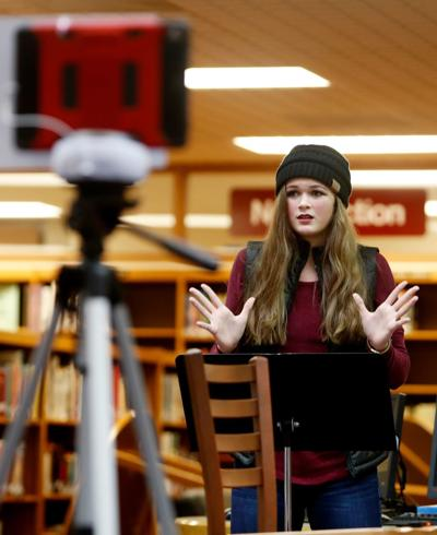 Skyview College Writing Slam Poetry Competition