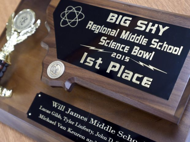 Science Bowl at Will James Middle School