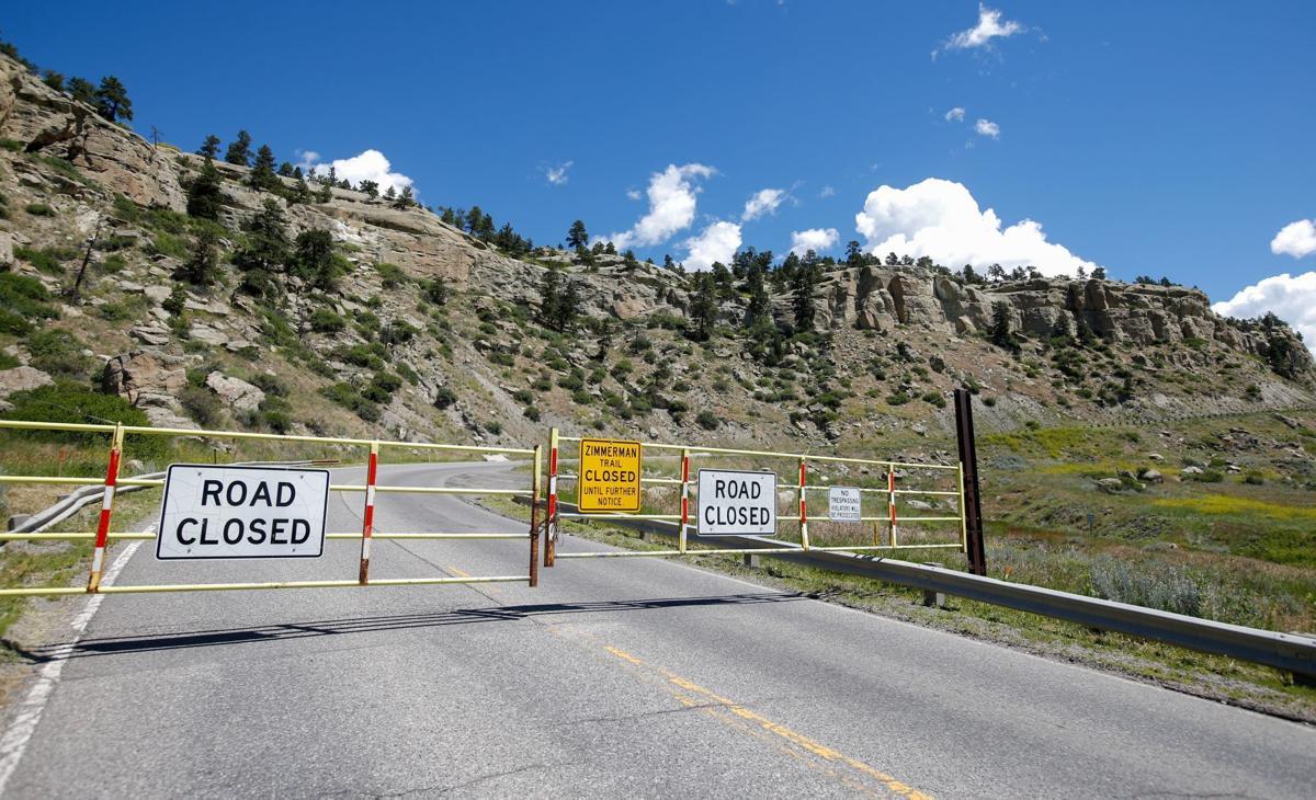 Zimmerman Trail closure