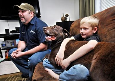 Dog reunited with family after tireless search   Montana News