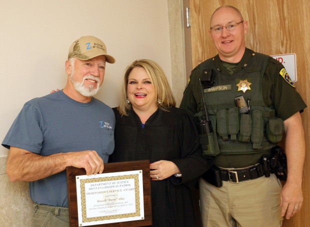 Rusty Allee's award