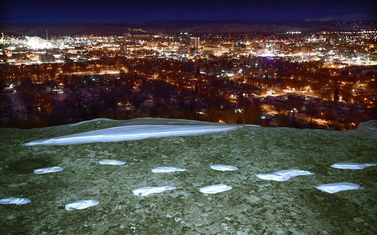 Skyline footprints