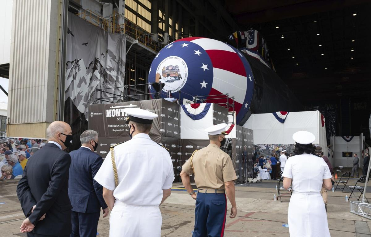 Exchange-USS Montana Submarine