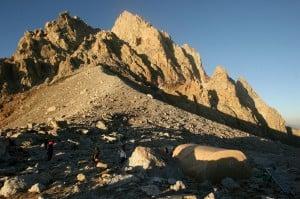 Climber injured in fall after summiting Grand Teton