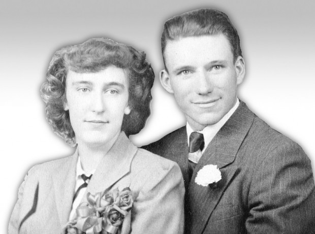 Maxine and Melvin Steinmetz in 1952