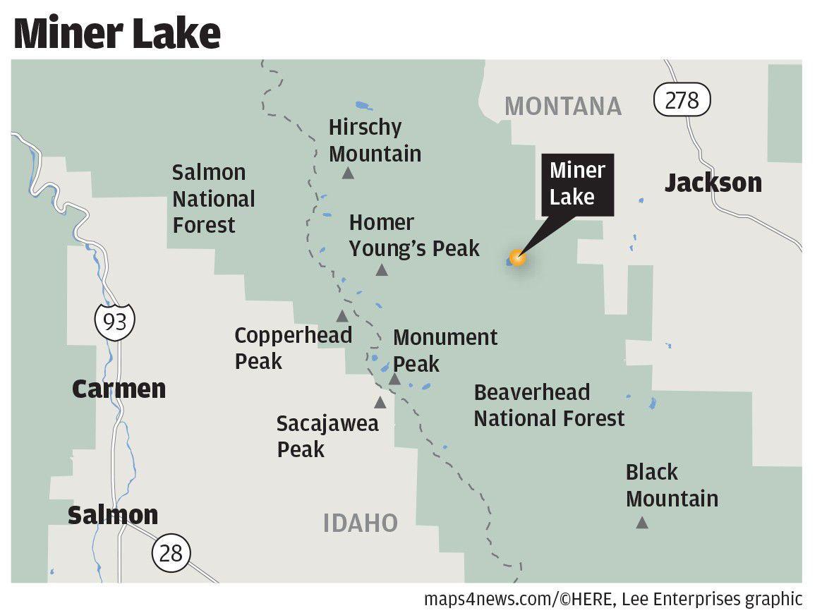 Miner Lake map