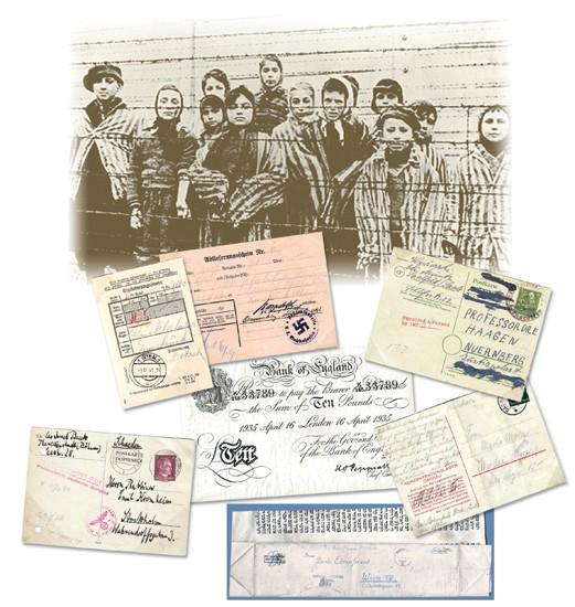 Rare mail, on display Sunday, tells of Holocaust