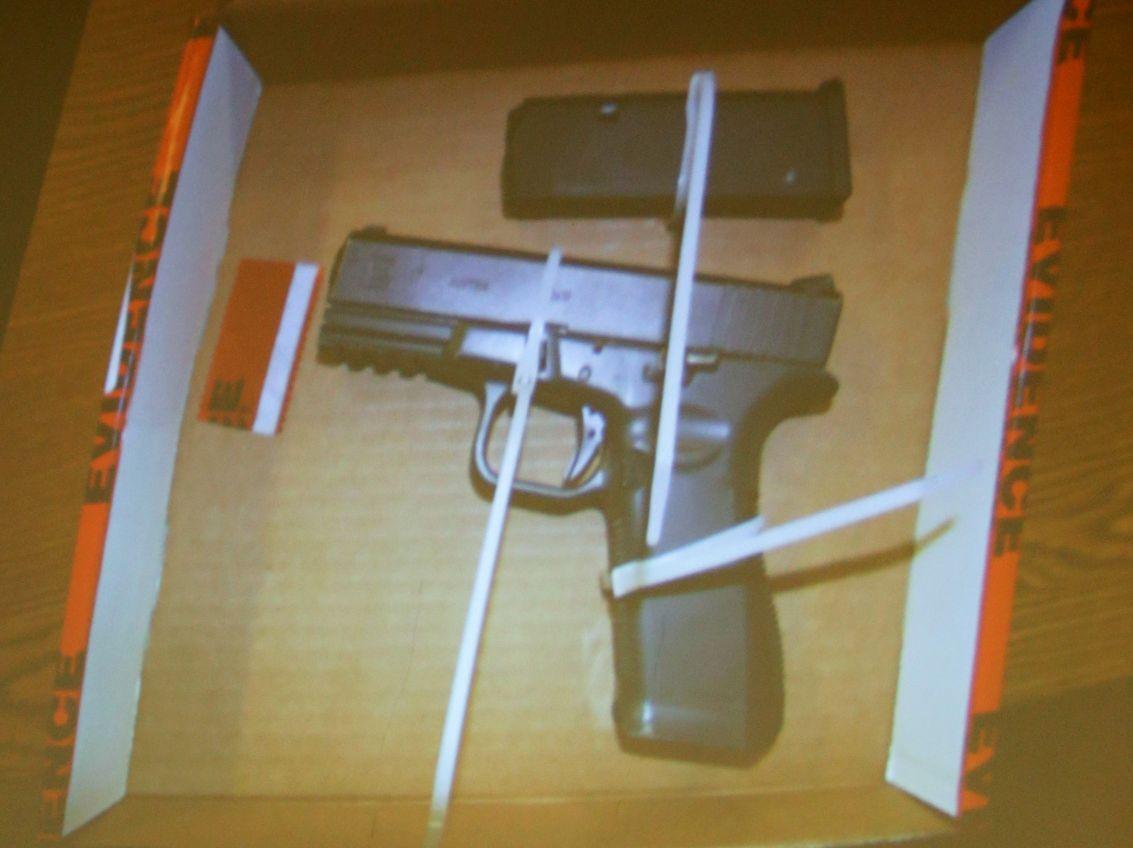 Stolen BIA gun