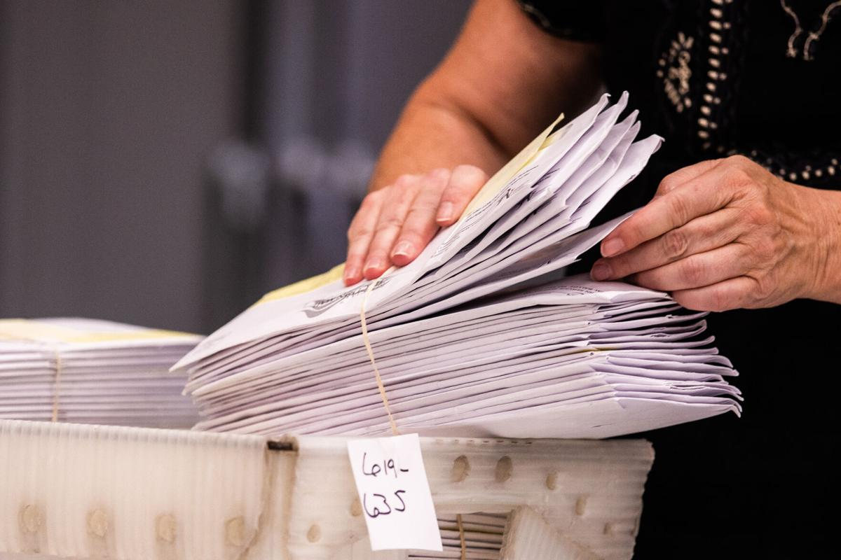 Mail ballot file