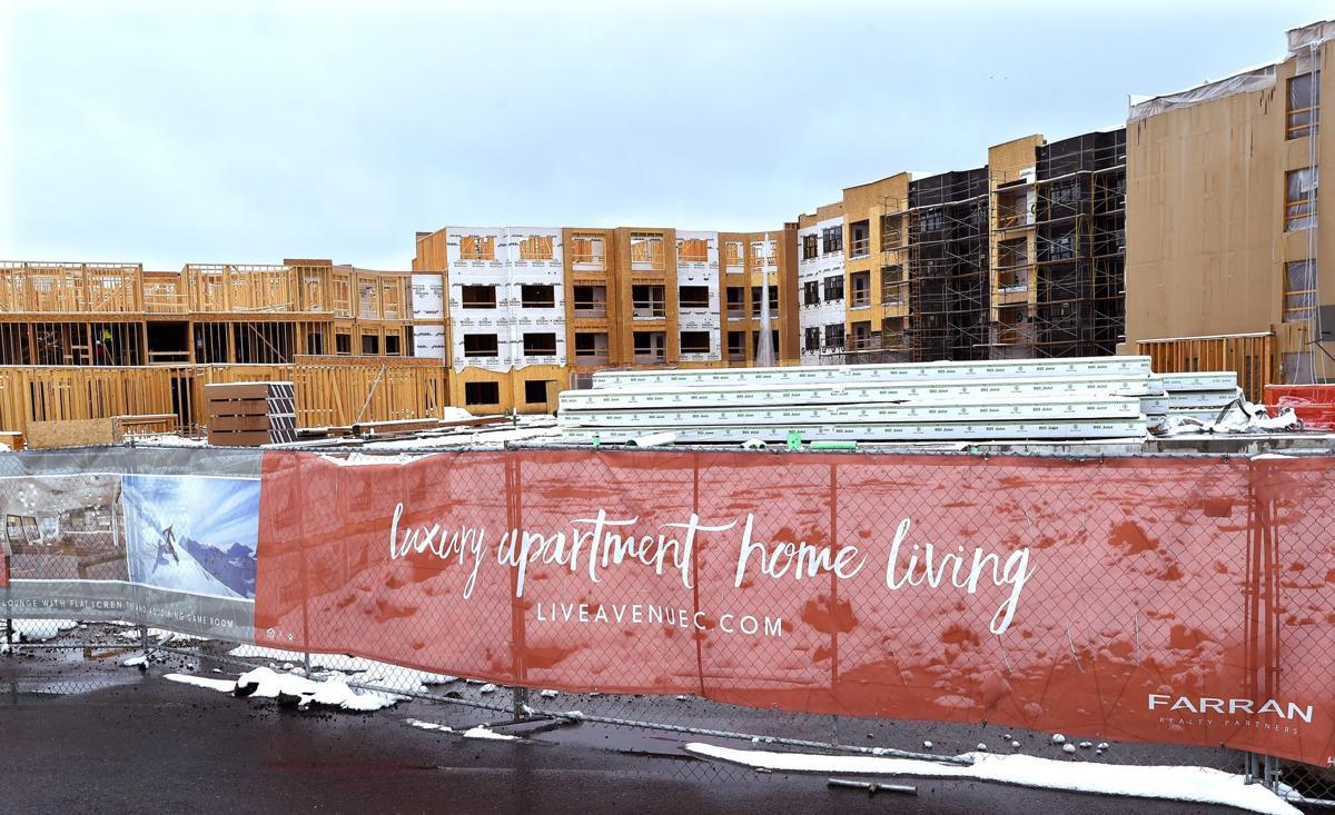 Avenue C apartments construction
